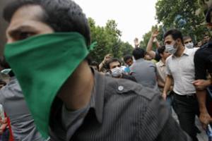 Вчера на улицах Тегерана