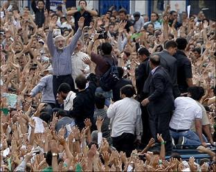 В Иране впервые простые жители смогли определить исход выборов