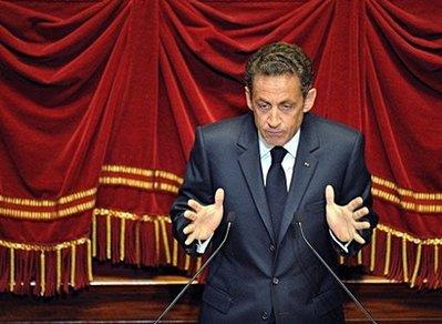 Выступление Николя Саркози в Версале