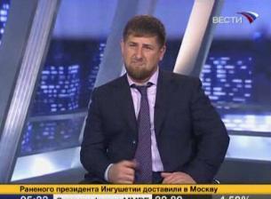"""Рамзан Кадыров в студии """"Вести-24"""""""