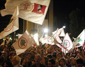 Сторонники прозападной коалиции в Ливане празднуют победу на выборах