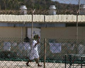 Узник концлагеря Гуантанамо
