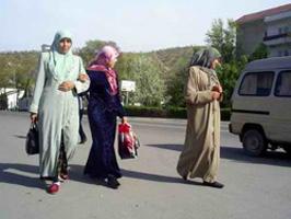 По мнению правозащитников, женщин обыскивают в связи с взрывами и стрельбой 25-26 мая