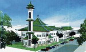 Внешний вид мечети в штате Перак