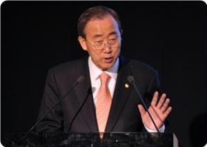 Пан Ги Мун: Осада Газы убивает жителей сектора