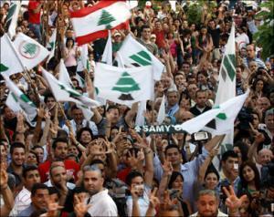Сторонники прозападной коалиции празднуют победу