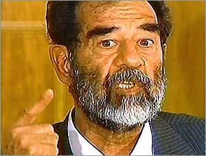 Саддам Хусейн развеял распространяемый американцами миф, что посылал двойников на разные мероприятия