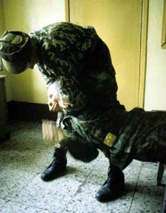 Накануне в одной из воинских частей Алейска были жестоко избиты 44 новобранца
