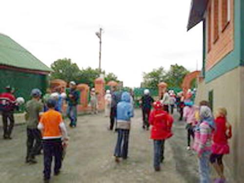 В новой мечети села Кикино Каменского района Пензенской области