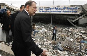 Хавьер Солана в Газе