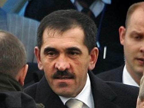 Президент Ингушетии Юнус-Бек Евкуров