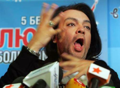 """Филипп Киркоров: """"Маленькому, черному татарину нужен антракт, чтобы торговать бутербродами"""""""