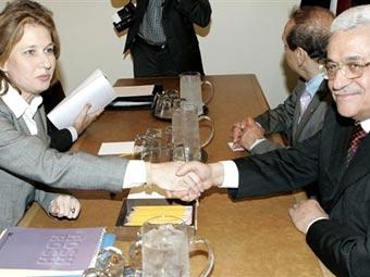 Встреча М. Аббаса и Ц. Ливни накануне израильской агрессии в секторе Газа