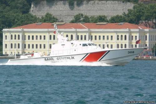 Турецкий скоростной катер береговой охраны. Фото: korabli.ucoz.ru
