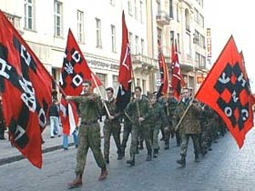 Боевики УНА-УНСО. Фото с сайта организации