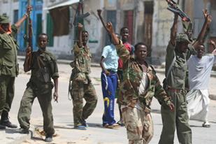 Вооруженные группы выступили против поддерживаемого Западом правительства Сомали
