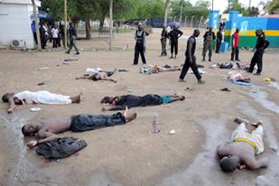 Правительственные войска подавили вооруженное нападение в Майдугури