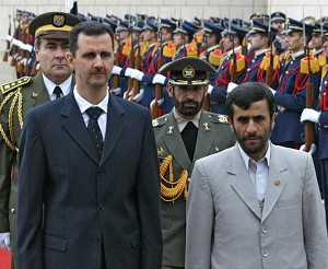 Башар Асад и Махмуд Ахмадинежад обсудят ситуацию на Ближнем Востоке