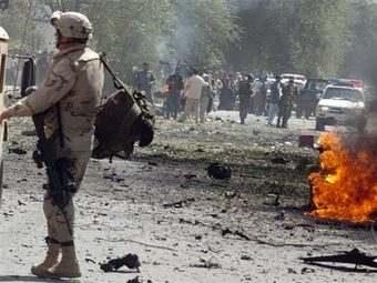 Архивное фото ©AFP с места одного из взрывов в Афганистане