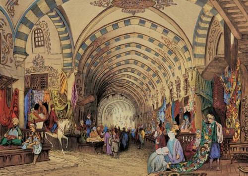 Крытый базар в Стамбуле