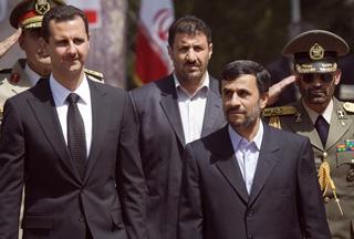 Башар Асад и Махмуд Ахмадинежад