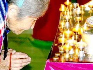 Для буддистской церемонии нужно будет согласие самого президента
