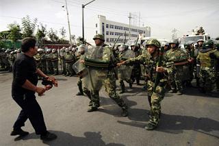 Столкновения уйгуров и китайской полиции