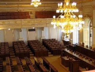 Зал заседаний Палаты депутатов Чехии