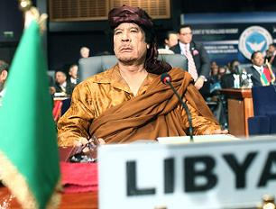 Муаммар Каддафи: За военными конфликтами в Африке стоит Тель-Авив
