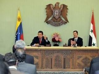Уго Чавес и Башар Асад призвали расформировать международные организации