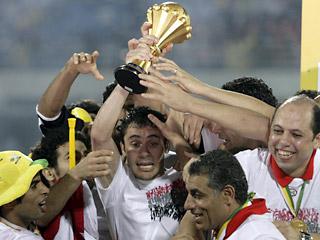 Сборная Египта - лучшая команда на Африканском континенте