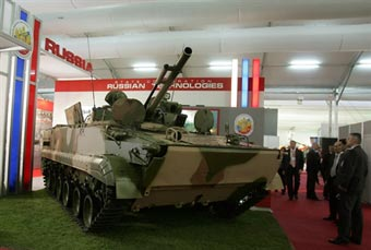 Россия на третьем месте в мире по экспорту оружия