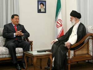 Встреча Уго Чавеса и Али Хаменеи