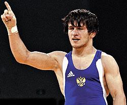 Золотой медалист по вольной борьбе Мавлет Батиров