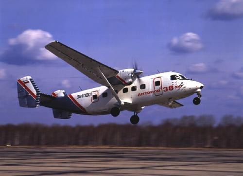 Украинский легкий самолет АН-38