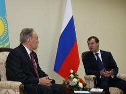 Россия и Казахстан заключили три межправительственных соглашения