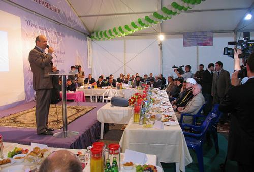 Шатер рамадана – своеобразная социальная служба