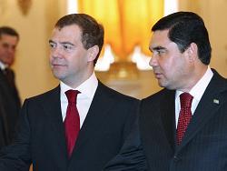 Президент России начал визит в Туркменистан