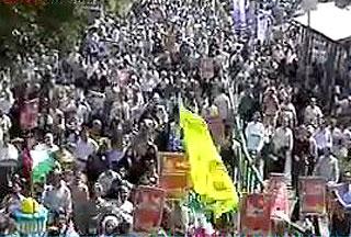 В Иране проходят массовые манифестации солидарности с палестинским народом