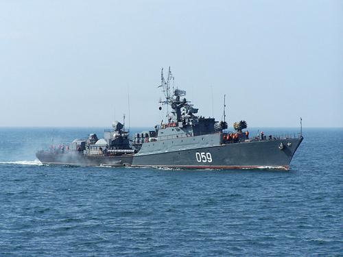 В Абхазии разместится пункт базирования Черноморского флота ВМС России