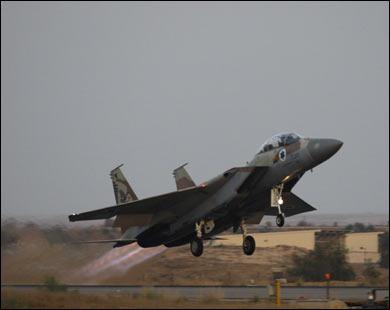 Израиль не исключает возможности удара по Ирану