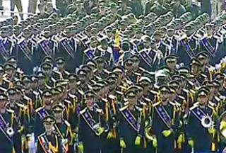 На параде в Тегеране