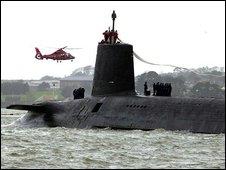 Великобритания сокращает ядерный флот