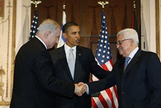 Обама и Аббас призвали израильтян к прекращению строительства поселений
