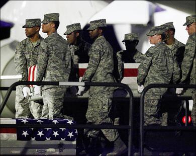 Сразу восемь пехотинцев США погибли в Афганистане