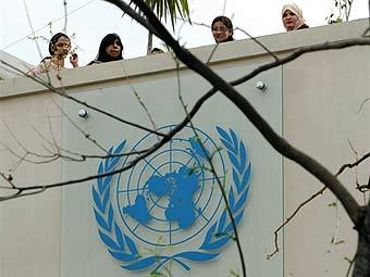 Здание миссии ООН в Исламабаде.