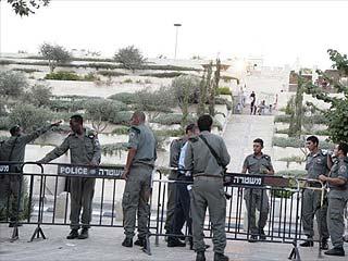 В Иерусалим стянуты израильские военные силы
