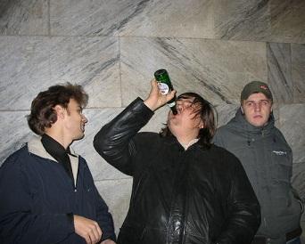 Основные потребители пива - несовершеннолетние и молодежь в возрасте до 30 лет, которая пьет каждый день