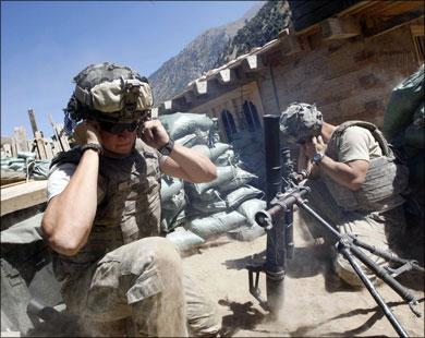 Армия США отступает со своих позиций в Афганистане