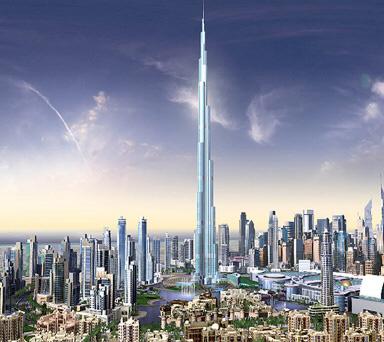 Самый высокий небоскреб мира откроется в Дубаи